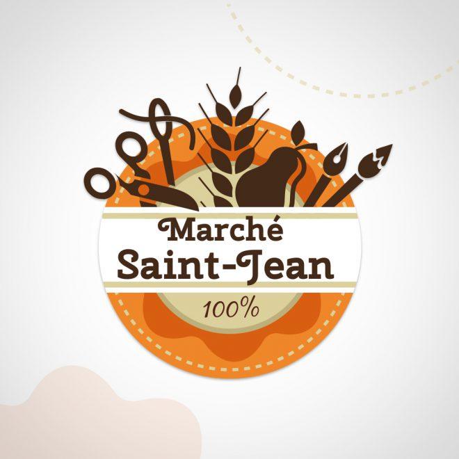 Logotype du Marché Saint-Jean