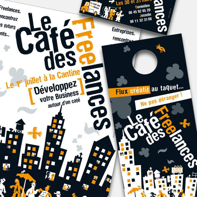 Illustrations Le Café des Freelances
