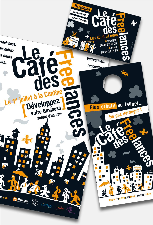 Illustrations Le Café des Freelances